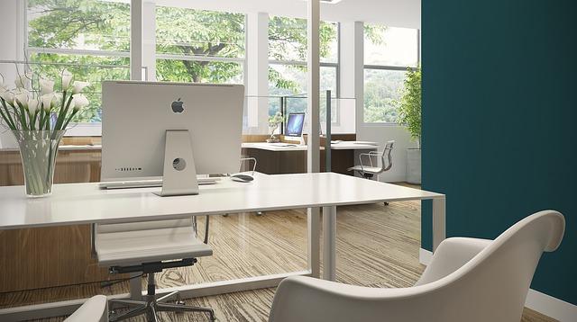 Biuro domowe w stylu skandynawskim