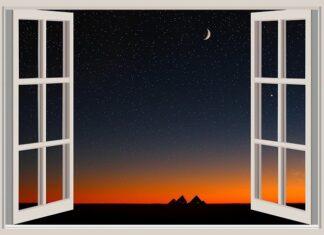 Widok z okna imitacja